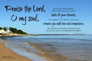 Psalm from Heather pic from Cindee